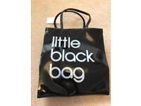 Bloomingdales little black bag- NEW
