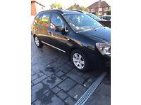 Kia Carens 7 seat Black 2L diesel