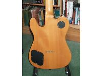 Telecaster. Squier Master series guitar. Rare, upgraded. Set neck model not bolt on.