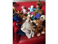 Soft toys and teddy bears