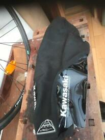 Kawasaki seat cover and stand