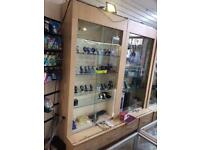 Shop display cabinets for sale