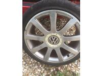 "18"" vw and Audi alloys"