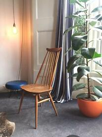 Ercol original high backed 1960's chair