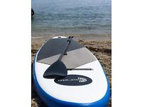 Cold west inflatable paddle board