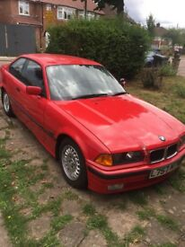 1993 L REG BMW 320i 2 Door Coupe Automatic Full BMW Service History