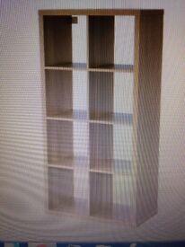 2 x IKEA Shelving unit KALLAX Oak effect 77x147 cm