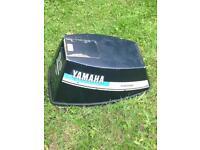 Yamaha outboard motor hood