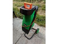 Homebase Garden Shredder used home use tree/branch mulcher