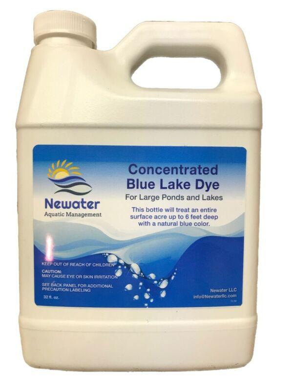 Newater Blue Pond Dye treats 1 acre