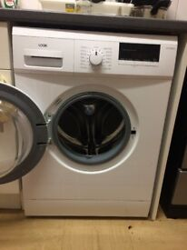 Brand new washing machine, bought 4months ago. Now moving house, selling fast!