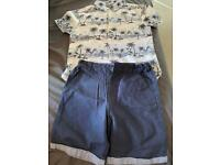 Boys kids clothes set size 6-7 years old