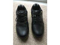 Black Dunlop Golf Shoes
