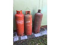 3 x 47kg propane gas tank