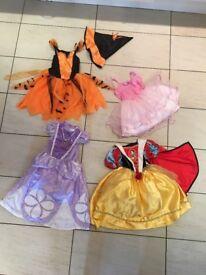 Disney princess dressing up outfits