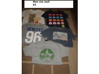 mens t-shirts size small