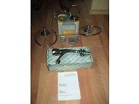 Bathroom accessories,4 quality items in good condition