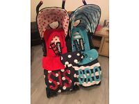 Cosatto Supa Dupa Bro and Sis twin pushchair