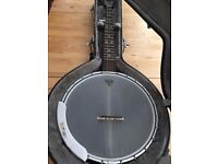 Grafton Clipper #3 'White Lady' - 5-String Banjo