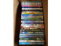 25 DVDs - kids childrens - Peter Pan, Snowman, Jungle Book, Dennis Menace, Wallace Gromit, Sofia