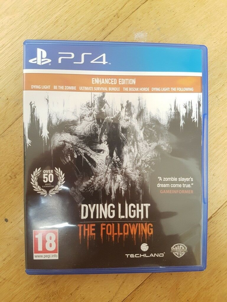 Dying Light (PS4) - New Condition - £5 | in Bradford-on-Avon, Wiltshire |  Gumtree