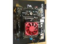 MSI Micro Atx DDR3 A68HM Grenade Motherboard with AMD A8-7600 Processor
