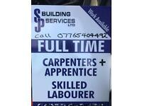 Carpenter wanted