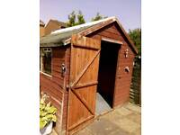 10ft by 8ft SHED
