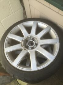 "Audi rs 18""Alloy wheels"