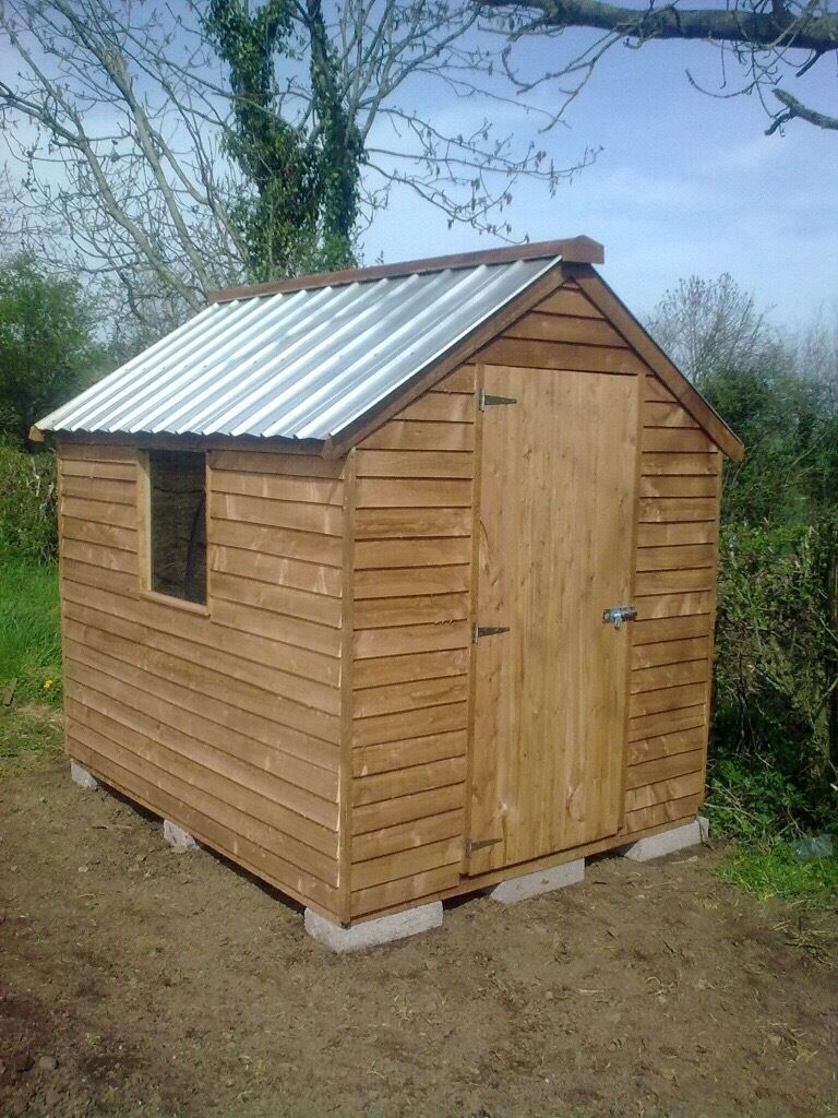 top quality 8ft x 6ft garden shed delivered and set up anywhere in northern ireland - Garden Sheds Ni