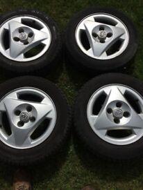 Genuine Vauxhall's alloy wheels 14 inch