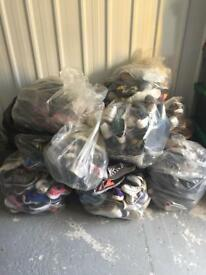 Huge lot 300 pairs (shoes and trainers) for sale