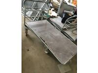 Warehouse platform trolley industrial heavy duty goods