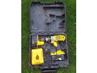 Heavy duty 18v dewalt drill-2 batteries & charger for sale £50