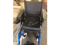 4 months old electric powered mirage wheelchair