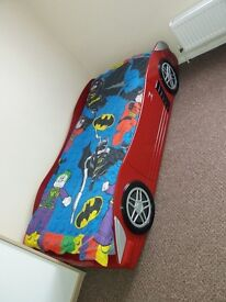 Single bed CAR with mattress