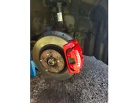 Mobile Car brake callipers painting & alloy wheels painting