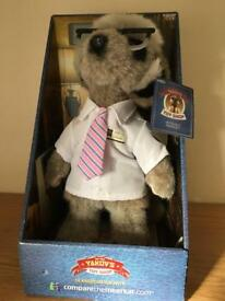 Sergei meercat character teddy toy brand new