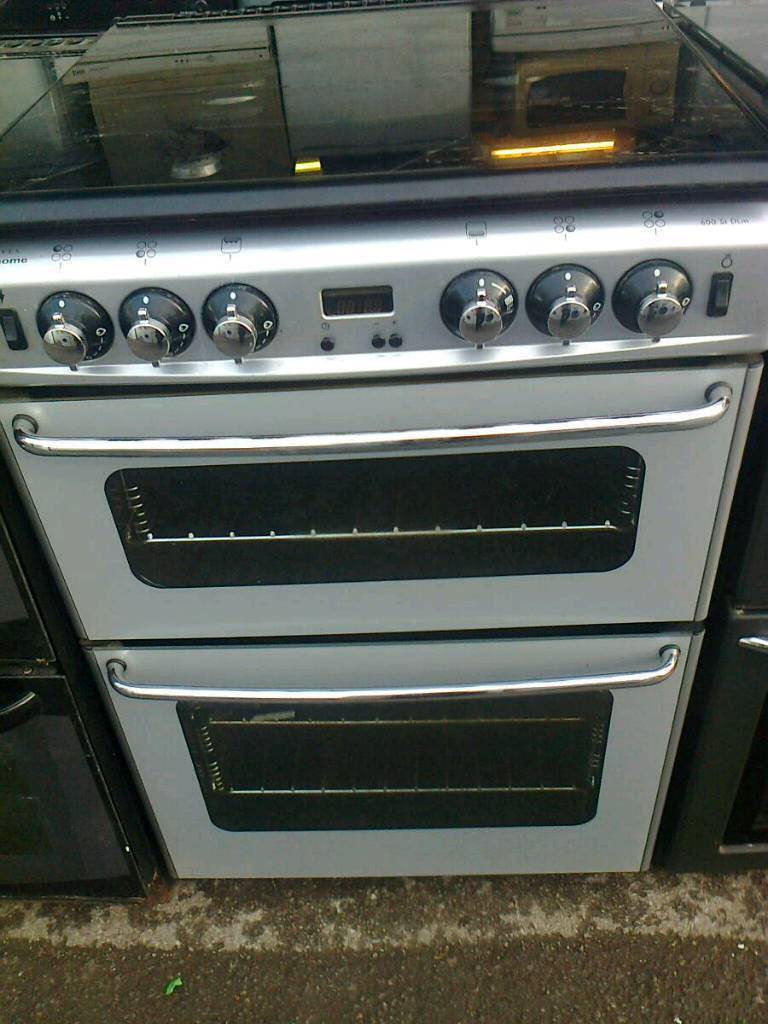Gas cooker, silver stoves