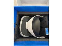 PS4 VR headset (boxed)