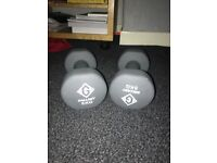2x5kg dumbbell weights (available from the end of Oct)