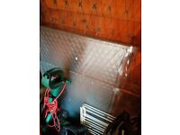 5 panes of tempered glass for greenhouse or garage