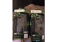 Xbox 360 afterglow controllers