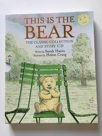 Box set of 4 This is the Bear books with CD