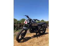 BRIXTON BX 125 Retro Classic Motorcycle