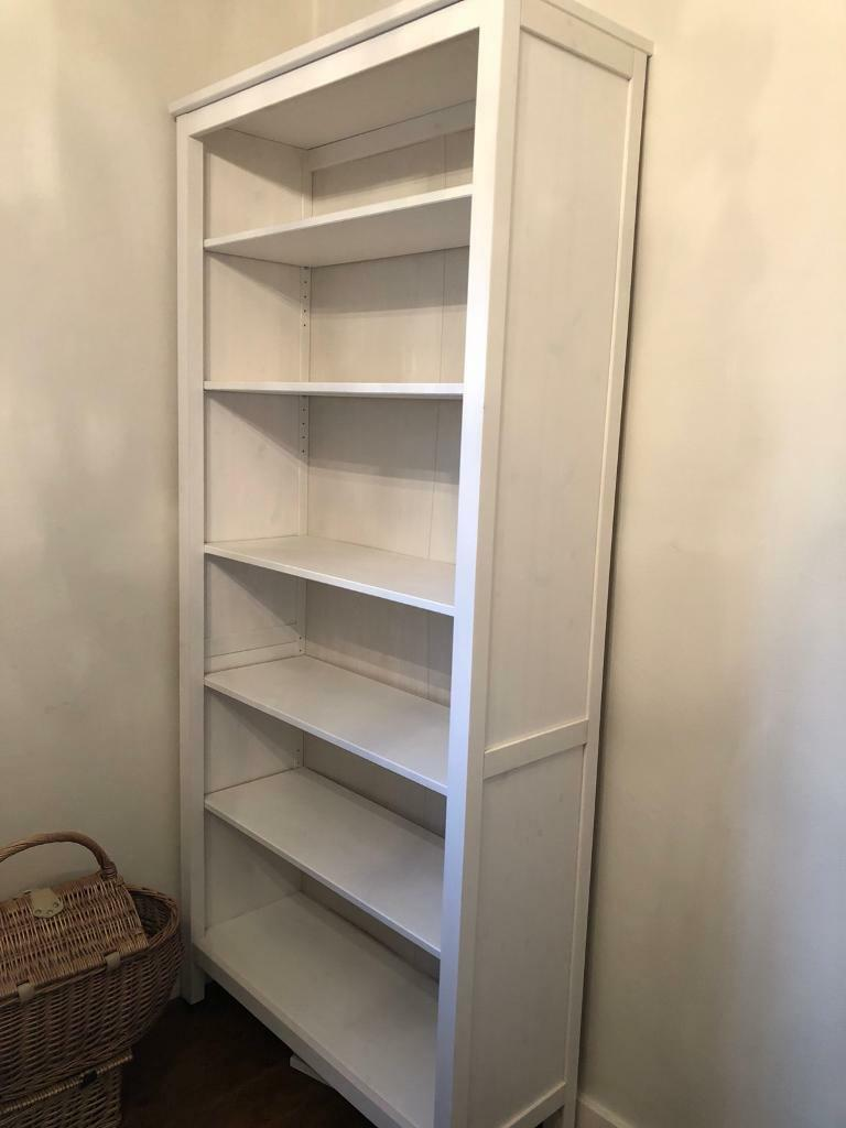 ikea hemnes bookcase white stain in basingstoke hampshire gumtree