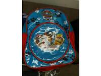 Paw patrol back pack like New.