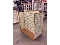 Slatwall Gondola Display Unit