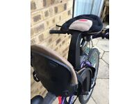 Awesome weeride- child seat on an adult bike