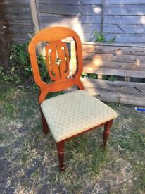 6 identical dining chairs for sale £20